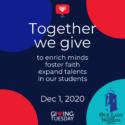 #GivingTuesday – December 1