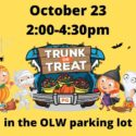 Trunk or Treat-Oct 23